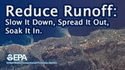 Vea información del Curso Reduce Runoff: Slow It Down, Spread It Out, Soak It In.